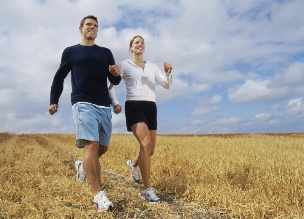 Ходьба и физические упражнения улучшают дыхание
